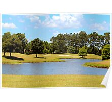 Golf Course Beauty Poster
