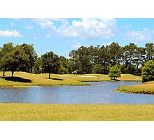 Golf Course Beauty Photographic Print