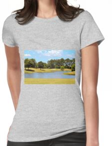 Golf Course Beauty Womens Fitted T-Shirt