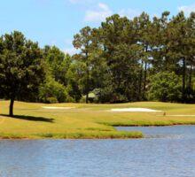 Golf Course Beauty Sticker