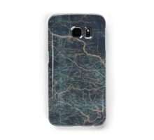 001  A map of Fairfax County and parts of Loudoun and Prince William Counties Va and the District of Columbia Inverted Samsung Galaxy Case/Skin