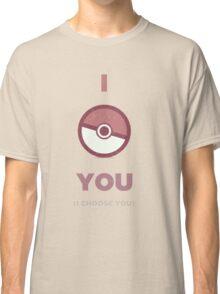 Pokemon - I Choose You Classic T-Shirt
