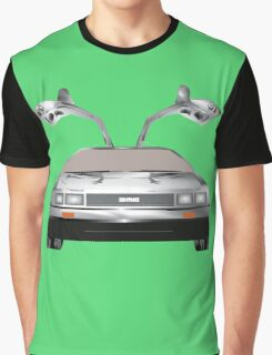 DMC DeLorean Graphic T-Shirt