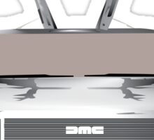 DMC DeLorean Sticker