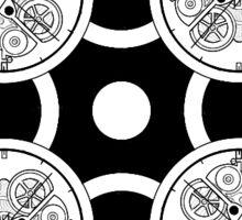 Clockwork Pattern 6 Sticker
