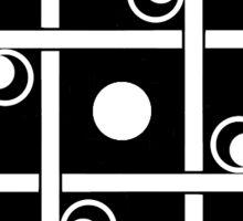 Clockwork Pattern 8 Sticker