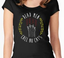 Dead Men Call No Cats Women's Fitted Scoop T-Shirt
