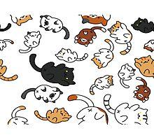 Neko Atsume Cats Photographic Print