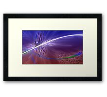 ABSTRACT COSMOS ATMOSPHERE   Framed Print