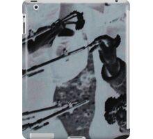 Flowers in Guns Effect iPad Case/Skin