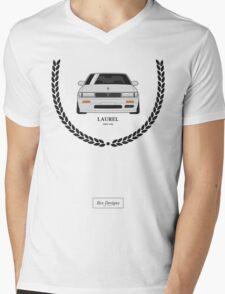 Nissan Laurel ² Mens V-Neck T-Shirt