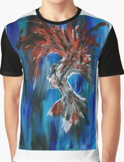 Abstract Silhouette Graphic T-Shirt