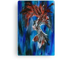 Abstract Silhouette Canvas Print