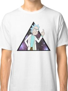 Rick and morty space 2 Classic T-Shirt