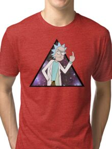 Rick and morty space 2 Tri-blend T-Shirt