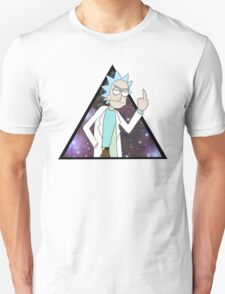 Rick and morty space 2 Unisex T-Shirt