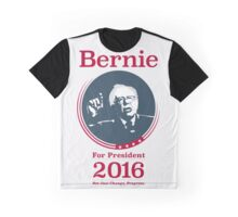"""Not Just Change, Progress."" - Bernie Sanders  Graphic T-Shirt"