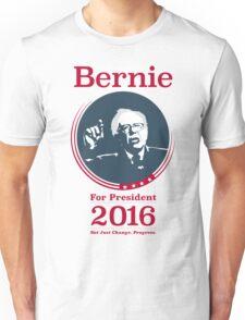 """Not Just Change, Progress."" - Bernie Sanders  Unisex T-Shirt"