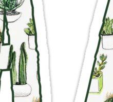 Arizona - Cactus Pattern Sticker