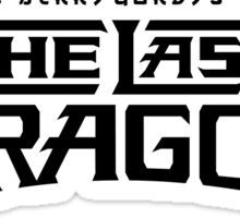 The Last Dragon Kung Fu Gear Sticker