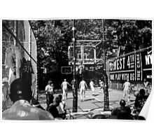 Basketball in NY Poster