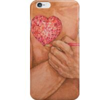Embrace Love Drawing iPhone Case/Skin