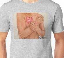 Embrace Love Drawing Unisex T-Shirt