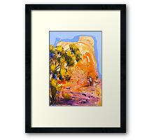 Our favourite spot Framed Print