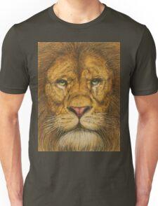 Regal Lion Drawing Unisex T-Shirt