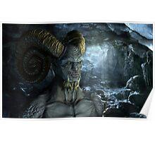 Demon Monster Poster