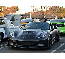 C7 corvette Z06 Photographic Print