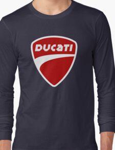 T-Shirt DUCATI Black Long Sleeve T-Shirt