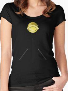 Chat Noir Shirt (Pattern 2) Women's Fitted Scoop T-Shirt