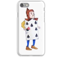 The 7 of Spades  iPhone Case/Skin