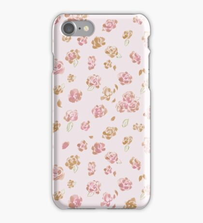 Roses, Roses (pink & yellow) iPhone Case/Skin