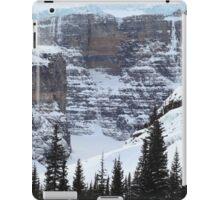 Ice, snow and rocks iPad Case/Skin
