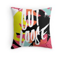 Cut Loose  Throw Pillow