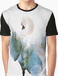 Swan Graphic T-Shirt