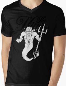 """""""The King"""" Poseidon Mens V-Neck T-Shirt"""