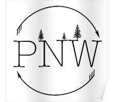 PNW Circle Poster