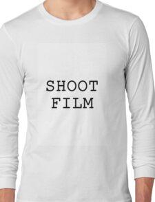 Shoot Film! Long Sleeve T-Shirt