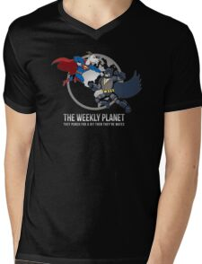 They Punch For A Bit Then They're Mates Mens V-Neck T-Shirt