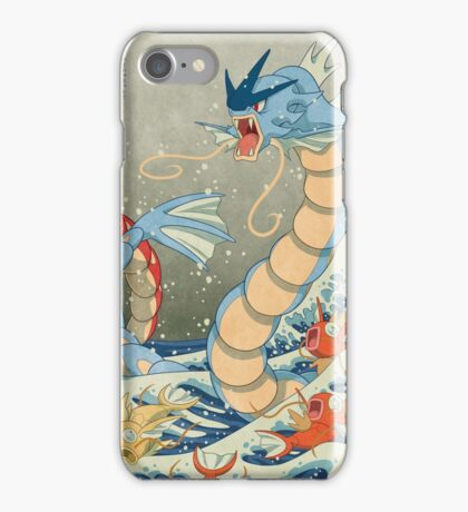 The Great Wave II iPhone Case/Skin