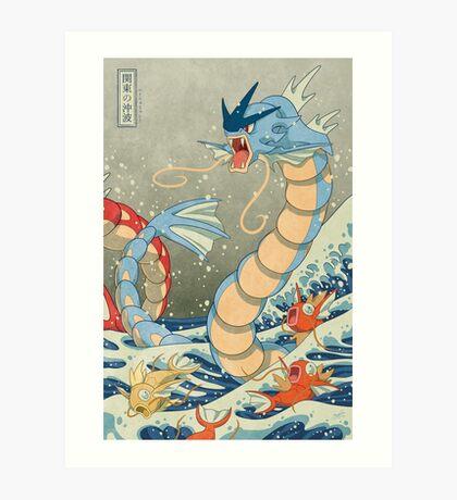 The Great Wave II Art Print