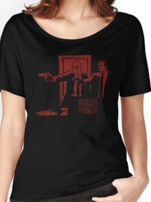 Dead Fiction - Red #2 Women's Relaxed Fit T-Shirt