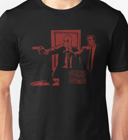 Dead Fiction - Red #2 Unisex T-Shirt