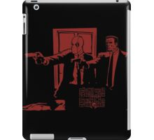Dead Fiction - Red #2 iPad Case/Skin