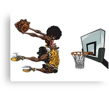basketball#dunk Canvas Print