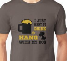 Beer And My Dog 2 Unisex T-Shirt