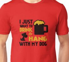 BEER AND MY DOG Unisex T-Shirt